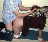 Teens spanked bound and punished