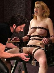 Scream slave as much as you want! no one gonna help you!