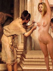 Rome noble men are granted captured slave girls!