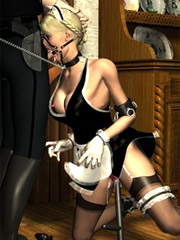Girls in sexy lingerie being punished!