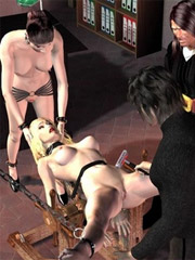 Servant are washing slaves of their mistress!