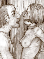 Black - White BDSM Art