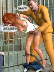 The tormentor grabbed her left nipple with his big hands and placed it between the toothy jaws of the pillers!