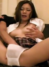 Nasty asian hotties spread their legs for a cock willingly
