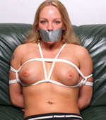House wife tied blowjob