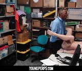 He loves getting anal fucked and sucking cock while cuffed.
