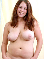 Picture gallery of an amateur fat babe showing her gigantic ass
