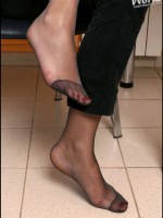 Bare feet, stockinged feet, wide meaty feet, long slender feet, a smorgasborg of yummy feet in every which way you like it