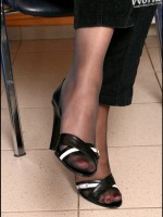 Deliciously lovely feet in all its different kinds bare, stockinged, wide, and slender choose one or all