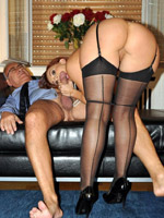 Granny pantyhose adonna from united states