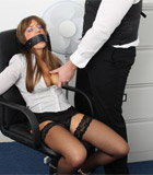 Cate harrington get tied, gagged and abused by her