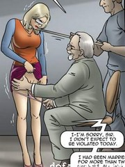 Blindfolded wife and stranger bdsm cartoons. the game by erenisch.