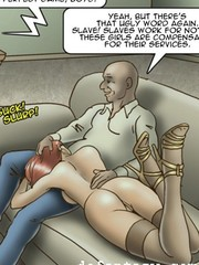 Rough tied slaves bdsm comics. bad max by cagri.