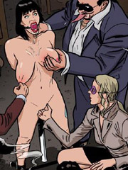 Auction in which sex played a girl with big breasts