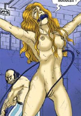 No forgiveness for disobedient whore, only suffering!