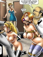 Poor slave babes used as urinal and bed for male visitors of the hotel.