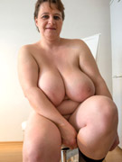 Curvy milf barby from united kingdom