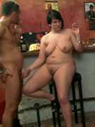 Hardcore bbw sucking, drinks and fucking all the way with three fat girls and guys