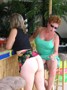 Watch hot pictures of mature bisexual swinger party on the yacht board