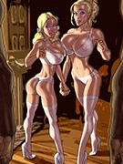 Diabolic ladyboys in awesome porn comics