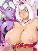 Xxx toon pics of two lucky guys appeared in the castle of pleasure with dirty girls.
