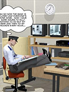 Redheah nasty toon babe wilma flintstone gets both her holes stuffed.