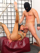 Sexy red head marsha has no gag reflex