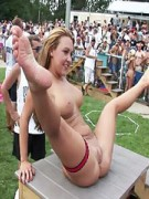 Beautiful party girls with tight bodies heating up the air