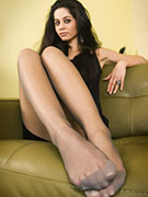 Appreciate her long sex-appeal legs, foot xxx and blue sandals getting your heart into boots…