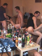 Luscious czech girls getting ready to get hardcore fucked in an orgy.