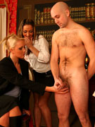Testing a guy is easy: you get his dick stroked by a bunch of sexy girls. all on freecfnm.com! tags: freecfnm.com, free, cfnm pics, hot girls, dick st