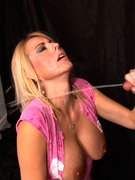 Small-titted babe getting her butthole slammed by her husband's buddy's thick meat