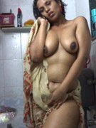 Delicious indian bhabhi stripping naked in her bedroom