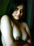 Indian babe with saggy tits doggystyle fucked