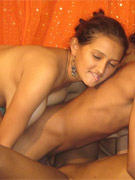 Naughty indian arhuarya strips off her traditional clothes to unleash her big milk jugs