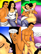 Chubby indian milf slips out her pink top and proudly performing her enormous juggs.