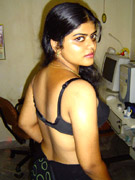 Indian hottie lasmi gets her pussy eated and fucked hard doggy style by a horny white guy