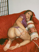 Neha in bedroom stripping her brown nighty
