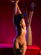 Neha in white lingerie exposing herself in bedroom