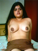 Petite indian babe catita playing with her tits and gets nasty cum hosing all over her face