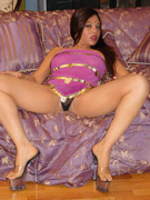 Horny indian carde squeezes her massive tits together for a cum shower