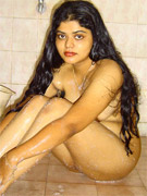 Sexy indian porn babe carde shows off her sexy ass and gets nasty cum showering all over her tits