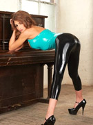 Petite pvc tracey lain from united kingdom