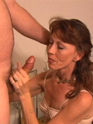 Horny cougar gets fucked doggystyle by a huge wank