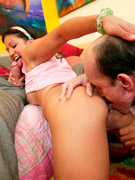 A naughty pretty schoolgirl shagged by her horny teacher