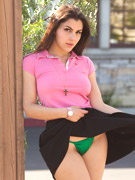 Olga has long black hair with exotic eyes and wonderful breasts, she has gorgeous lips and ready for kisses.