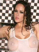 Carmella bing takes a shower and gets all wet