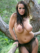 Carmella bing gets very horney in the outdoors