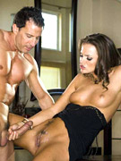 Tight bodied tori black gets doggie fucked from behind by tony desergio in this photo set