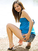 Young brunette pregnant babes slowly undressing and toying her snatch. tags: insertion, perky tits, naked girl.